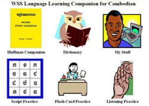 Người bạn đồng hành học tiếng WSS cho Campuchia