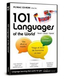 Phần mềm học ngoại ngữ: 101 Languages Of The World