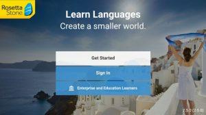 Phần mềm học ngoại ngữ Rosetta Stone