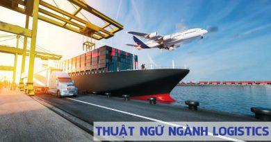 Thuật ngữ ngành logistics