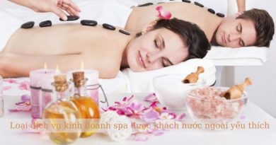Loại dịch vụ kinh doanh spa