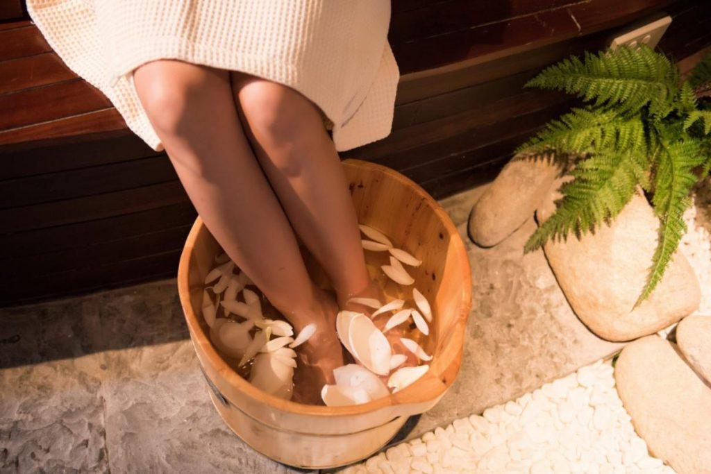 kinh doanh spa với dịch vụ ngâm chân