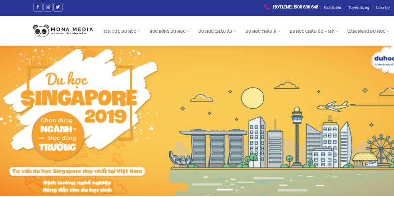 website du học singapore