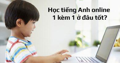 Học tiếng Anh online 1 kèm 1 ở đâu tốt? Top 9 khóa học tốt nhất