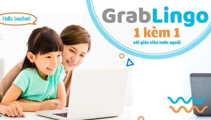 Khóa học tiếng Anh online 1v1 cho trẻ em - GrabLingo